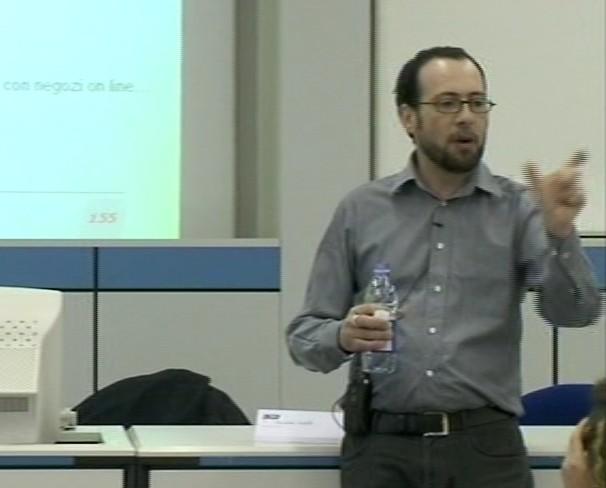 Giacomo Mason in aula - 2008