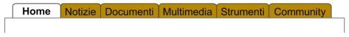 Architettura informativa per formati