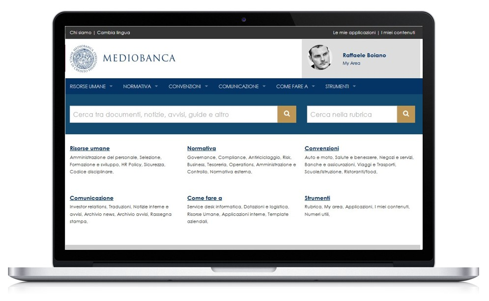 mediobanca_intranet_mockup