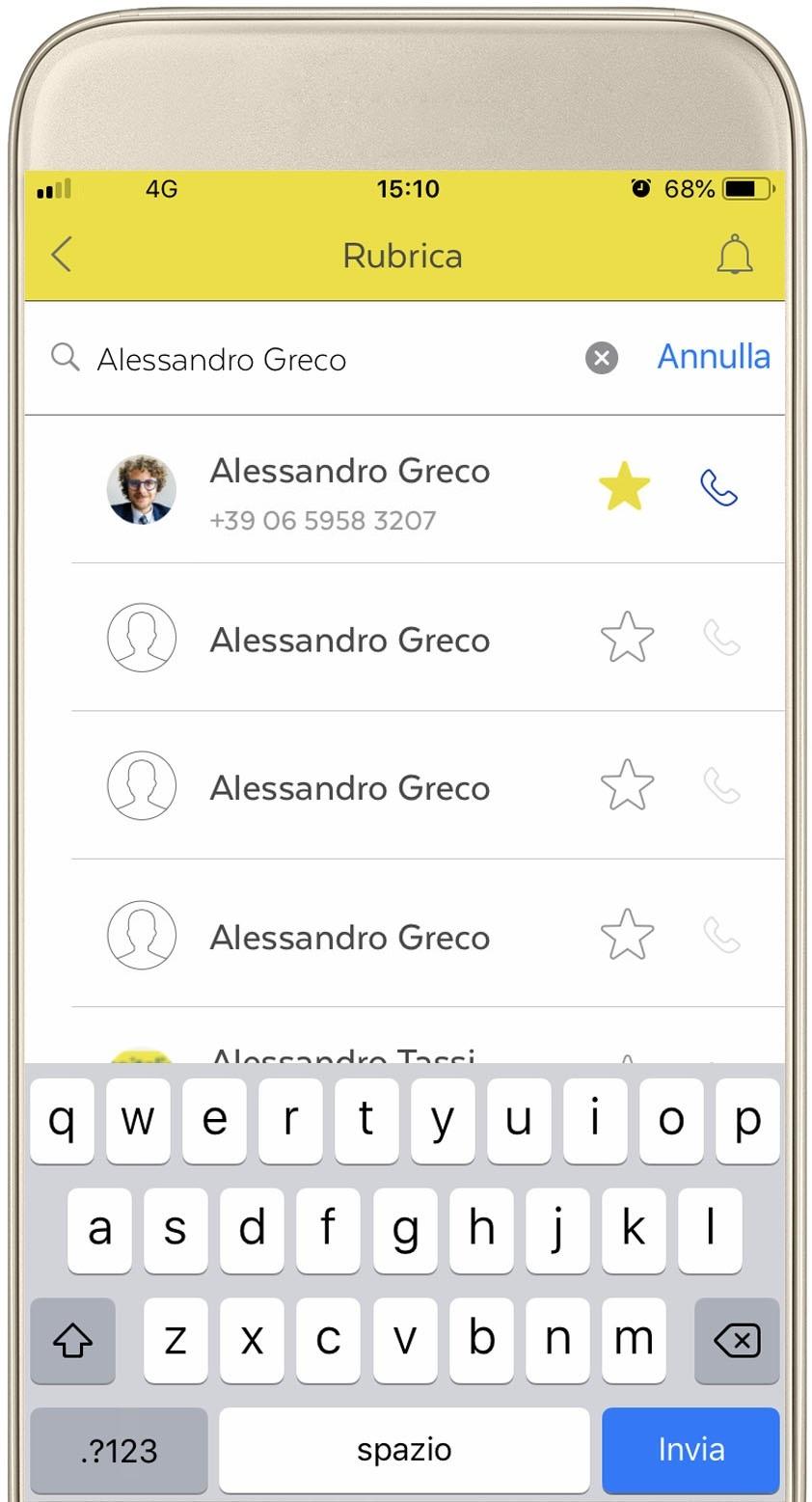 App-NoidiPoste-rubrica ricerca